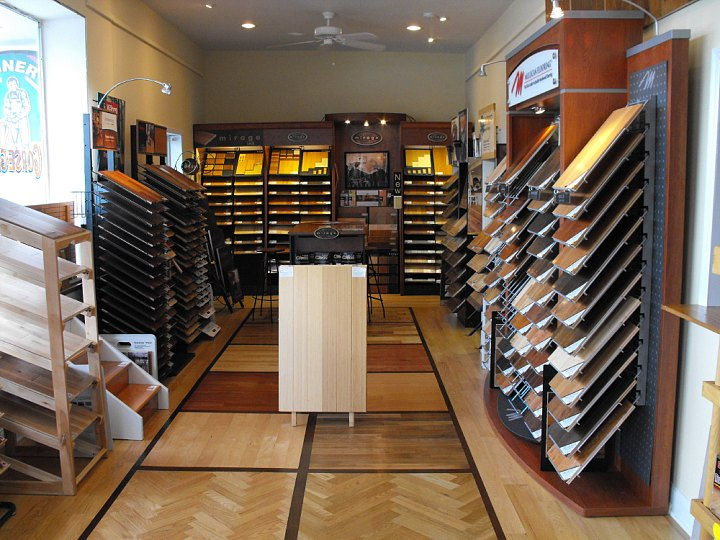 Gorsegner has a hardwood floors showroom in nj middletown for Showroom flooring ideas