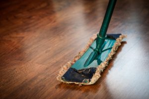 Regular Wood Floor Cleaning